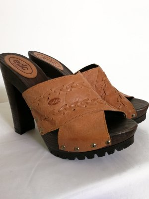 edc by Esprit Heel Pantolettes brown-light brown