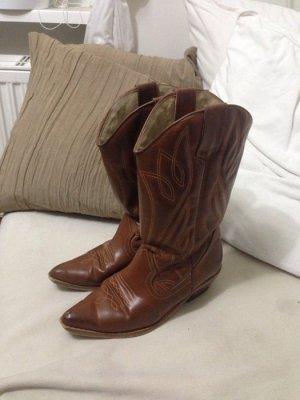 Echtleder Cowboy Boots Gr. 38