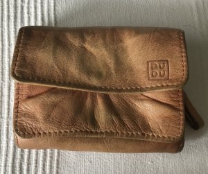Wallet light brown leather