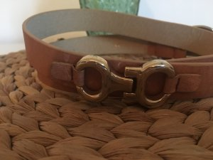 Belt multicolored leather