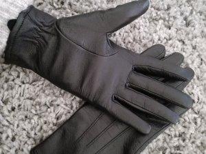 Echtleder-Handschuh von OPUS in schwarz Aomame Sp