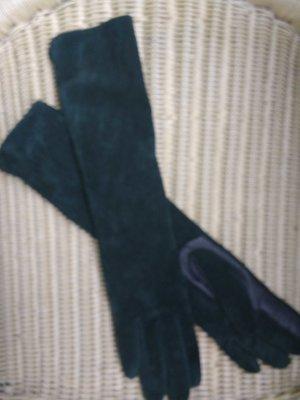 ECHTLEDER Handschuhe in sattem Dunkelgrün