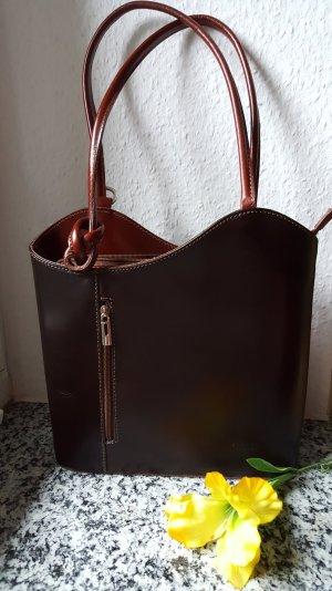 Echtleder Handtasche aus Venedig Neu