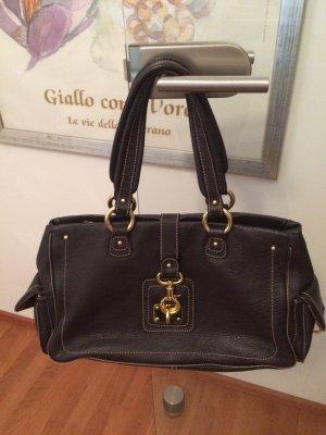 Echtleder Handtasche- Rindsleder, made in Italy