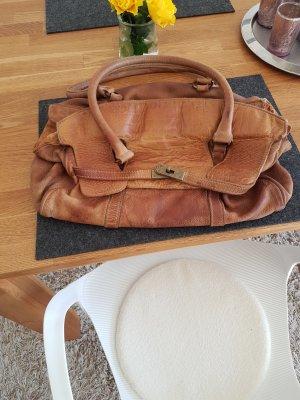 Echtleder Handtasche von Berg'e
