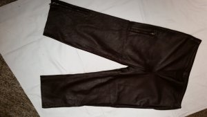 Leather Trousers brown red