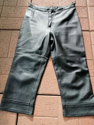Nicowa Pantalón de cuero negro
