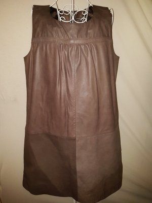 Avenue Foch Leather Dress light brown-brown leather