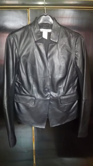 Ashley Brooke Leather Blazer black leather