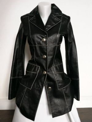 Only Leather Coat multicolored
