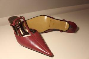 ae elegance Pointed Toe Pumps purple leather