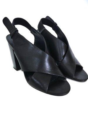 Mango Sandales noir