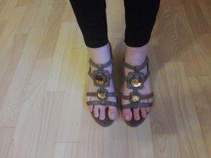 Echtleder Sandale