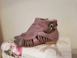 Tamaris Roman Sandals mauve leather