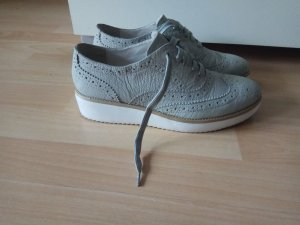 Gerry Weber Wingtip Shoes white-sage green