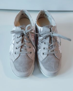 Semler Sneaker stringata grigio chiaro-crema Pelle