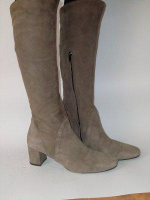 Jackboots beige-camel leather
