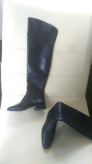 0039 Italy Botte haute noir