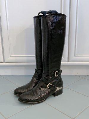 Echtleder Stiefel von Donna Laura Venezia, Größe: 38