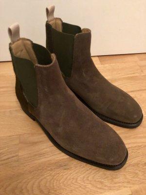 Gant Botas deslizantes gris verdoso