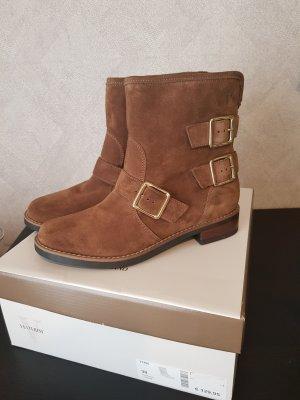 Echtleder Stiefeletten / Braune Boots