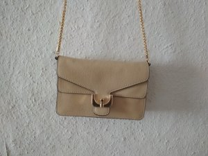 Coccinelle Crossbody bag sand brown leather