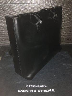Echtleder Tasche Strenesse schwarz