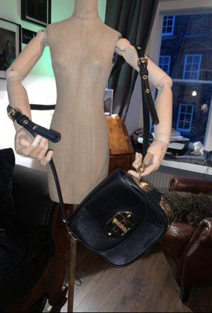 Echtleder Tasche von Bimba y lola mit goldenem Beschlag