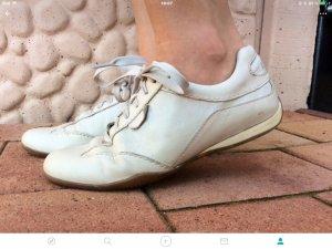 Echtleder Turnschuhe Schuhe weiße Sneakers