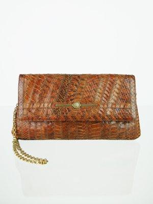 Echtleder Vintage Handtasche mit Innenspiegel