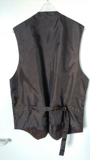 Leather Vest multicolored leather