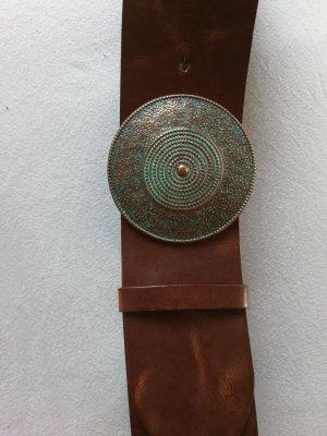 XX BY MEXX Cinturón de cadera color bronce-marrón