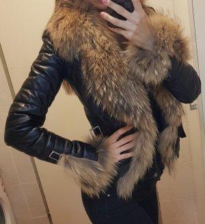 Pelt Jacket black leather