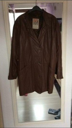 Cappotto marrone-marrone-nero