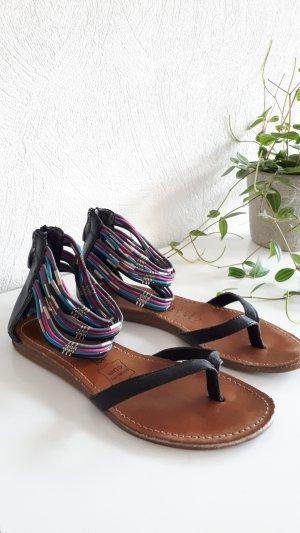 Les Tropéziennes Sandalo toe-post multicolore