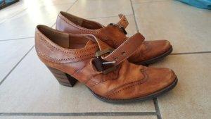 Tamaris Heel Pantolettes light brown-brown