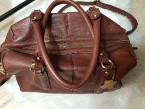 Echtledertasche in Brown