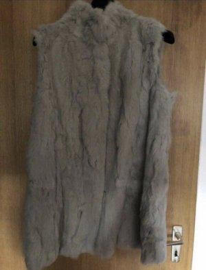 Fuchs Schmitt Smanicato di pelliccia argento-grigio chiaro Pelliccia