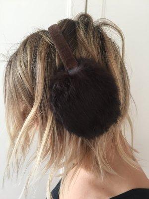 Echtpelz Hasenfell Ohrenschützer
