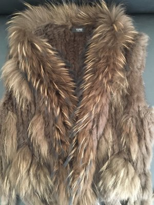 Funk Fur vest multicolored