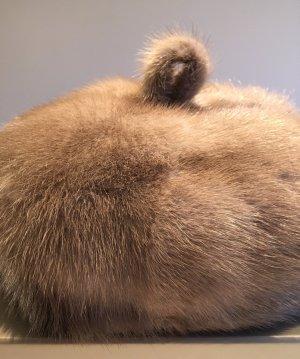 Hat light brown-dark brown