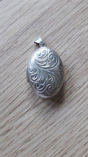 Echtschmuck 925er Silber Medallion Anhänger Ornament