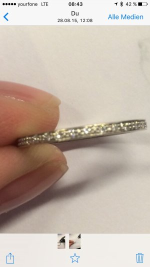 Echtschmuck Ring Gr 53,5