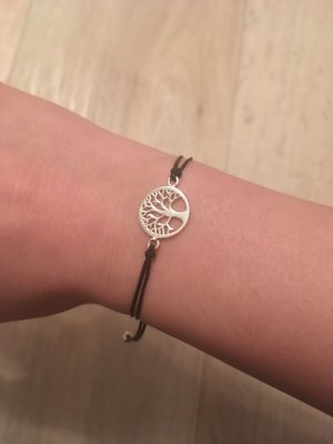 Echtsilber Lebensbaum Armband