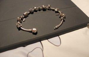 Echtsilber Pandora Armband mit 13 Charms