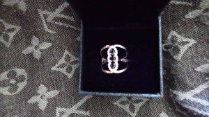 echtsilber ring gr 17 mit zirkonia