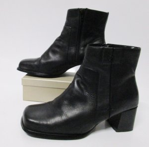 Hush Puppies Low boot noir cuir