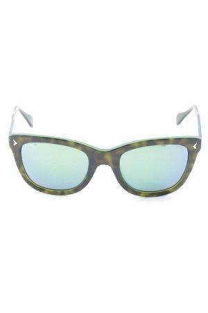 eckige Sonnenbrille mehrfarbig Casual-Look