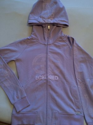 Ecköred Sweatshirtjacke flieder