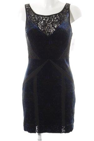 Ecote Abendkleid schwarz-dunkelblau klassischer Stil